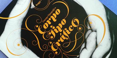 Lançamento do livro 'Corpo Tipográfico' no auditório do CAA